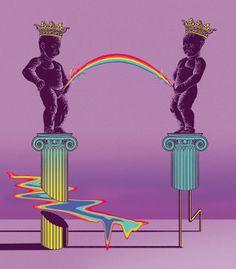 "Curioos.com   ""rainbow"" by Andrey Flakonkishochki (Russian Federation) - http://pinterest.com/curioos"
