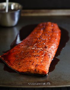 Tart Cherry Glazed Salmon