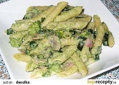 Špagety s brokolicovým krémem recept - TopRecepty.cz