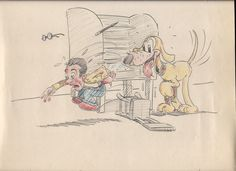 The Ray Abrams Archives – Part 3: Cowboys, Co-Workers and Polo Ponies    Once again, courtesy of his son William Abrams, some more of the momentos from the archives of veteran Lantz/MGM animator Ray Abrams. This time a few personal items that reflect his interests – and his art.    A couple more of the animators joke pictures. As I said, they all played tricks on each other.