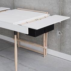 Desk Concept by Agnieszka Graczykowska | Abduzeedo Design Inspiration
