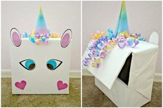 Valentine's Day DIY: Unicorn Valentine Box with FREE Printable