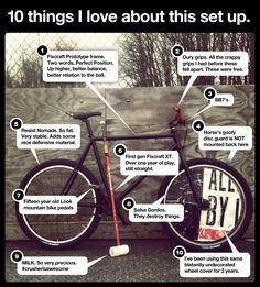 Lancaster Bike Polo - Fixcraft Prototype - 10 Things