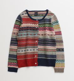 I dont care for the Mismatched look, but this fairisle has some good ideas.