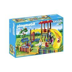 "Playmobil - Children's Playground - Playmobil - Toys""R""Us Play Mobile, Playgrounds For Sale, Playmobil City, Playground Set, Children Playground, Star Wars Shop, Toys Uk, Funko Pop Vinyl, Toy Store"