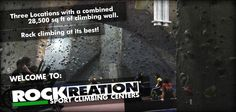 Welcome to Rockreation Sport Climbing Centers