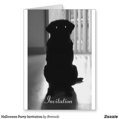 Halloween Party Invitation Greeting Card