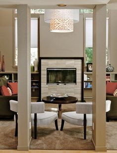 Fireplace #5    Jason Ball Interiors - contemporary - living room - portland - by Jason Ball Interiors, LLC