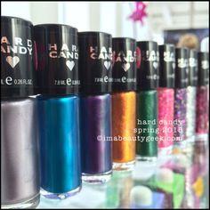 New Hard Candy nail polish shades for Spring 2015 ©imabeautygeek