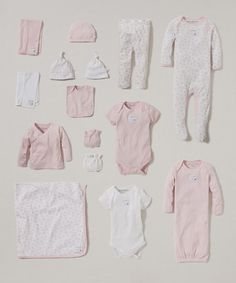 Love this White & Blossom Organic 15-Piece Layette Set - Infant on #zulily! #zulilyfinds