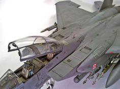 F-15E 1/48 Scale Model