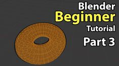 Blender Beginner Tutorial - Part 3: Edit Mode