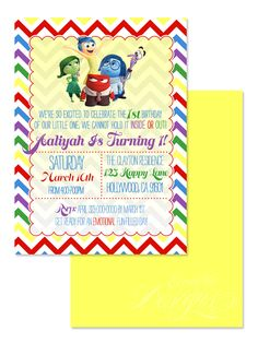 123 best children birthday party invitation designs images on inside out digital birthday party invitation child party ideas children party themes filmwisefo