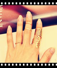 New Fashion jewelry hollow finger ring set nice gift for women girl lovers' gift 1set=4pcs R1026 US $2.39