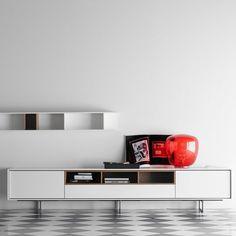 www.muebleslluesma.com  mueble tv de lineas rectas realizado en chapa natural de la nueva colección de treku combinable en diferentes colores que se adapta a todos los espacios.muebles moderno gandia treku, muebles mesa cádiz, muebles comedor ciudad real gamamobel