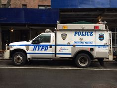 NYPD Emergency Service Unit (ESU) truck.