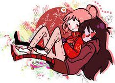 Resultado de imagen de marceline y chicle yuri
