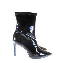 Bota Cano Curto/Médio Preto 1680 Fashion boots - Dumond by Moselle