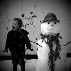 Rufus and the snowman