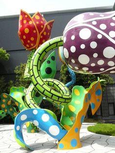 Matsumoto City Museum of Art | Yayoi Kusama exhibit Nagano Japan