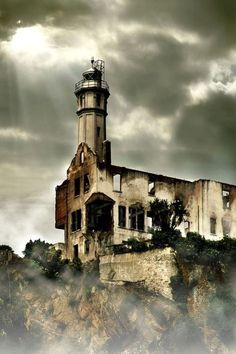 Forgotten Alcatraz Light House