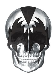 Demon-KISS skull by Pigmento Design