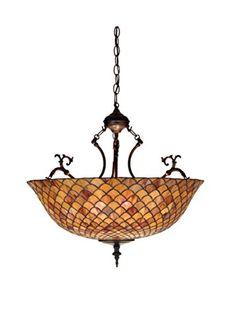 "Meyda Home Indoor Decorative Lighting Accessories 24""W Tiffany Fishscale Inverted Pendant Meyda Tiffany http://www.amazon.com/dp/B008PSH4FI/ref=cm_sw_r_pi_dp_yTuUub1QHV2WQ"