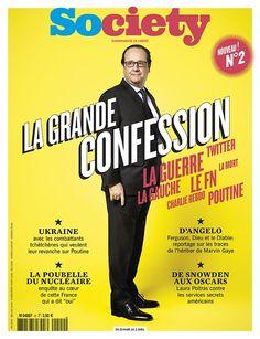 """Le numéro 2 débarque vendredi, avec """"La grande confession de @fhollande"""", mais aussi #Ukraine et @TheDangelo..."""