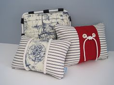 Float Interiors: Nautical Pillow Collection