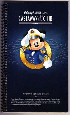 You've booked your Disney Cruise Line voyage and paid in full! You've selected your shore excursions, gourmet dining, spa, and childcare extras! Now all you have to do is relax until you get your official Disney Cruise Line documents.    TIMING