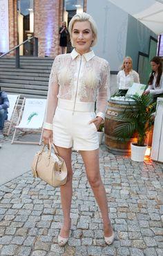 Pin for Later: Die Stars machen Berlin zum Mode-Mekka bei der Fashion Week Kriemhild Siegel bei einem Event