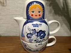 sochi souvenir - Teapot  olympics 2014