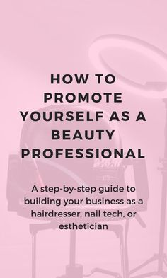 Want a salon marketing idea or salon inspiration to build your business as a hairdresser, nail tech, or esthetician? This article shows you how to attract new salon clients with personal branding. Salon social media isn't as important as growing a strong personal brand. This blog post shows you how to do it! Social Media Branding, Personal Branding, Marca Personal, Hair Removal, Mary Kay, Salon Business Plan, Business Ideas, Business Sales, Business Inspiration