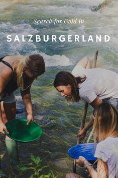 For gold panning, go to SalzburgerLand! Reisen In Europa, Photo Walk, Galerie D'art, Fine Art Photo, Hot Days, Personal Photo, Art Pictures, Austria, Fun Facts