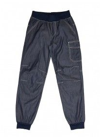 Denim Track Pants Mid Blue