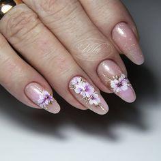 Gelish Nails, Red Nails, Flower Nail Art, Luxury Nails, Cute Nail Designs, Cute Nails, All The Colors, Nail Polish, Makeup