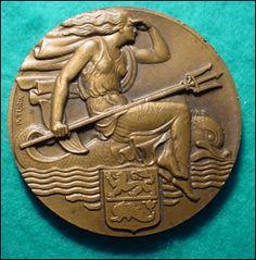 Description: Pierre Turin Croisiere Dunkerque medal