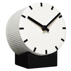 Tid keraaminen kello, valkoinen
