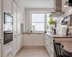 Aranżacje wnętrz - Kuchnia: Zielone Śródmieście - Duża otwarta kuchnia w kształcie litery l, styl nowoczesny - PRACOWNIE WNĘTRZ KODO. Przeglądaj, dodawaj i zapisuj najlepsze zdjęcia, pomysły i inspiracje designerskie. W bazie mamy już prawie milion fotografii!