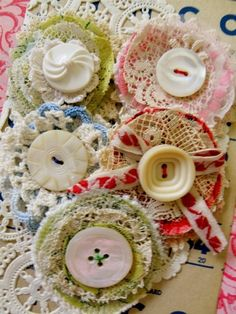 Poppet Posies Sample Picture by DearPearlVintage on Etsy