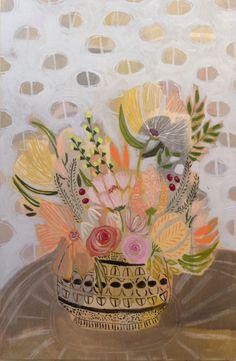 FLOWERS FOR GRETTA - 24X36