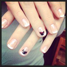 French Disney nails!
