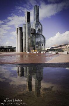 Ciudad de la Cultural de Galicia - Monte Gaiás, Santiago de Compostela, Galicia, La Coruña, ES