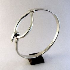 handforged sterling silver jewellery by C. G. Whitfield