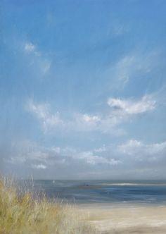 13 February. Norfolk coast. Rebecca Lloyd - Norfolk Artist