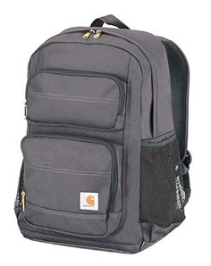 Amazon.com  Carhartt Legacy Standard Work Backpack with Padded Laptop  Sleeve and Tablet Storage, Black  Sports   Outdoors. Hiking BagCamping ... 565985e5d9