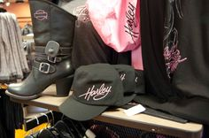 House of Harley-Davidson - Pink clothing, hats and boots