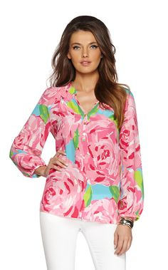 We think this #LillyPulitzer top is the perfect piece for #spring!