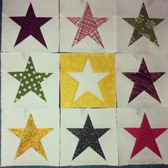 | Flickr - Photo Sharing! Pattern: Simple Star by Diane Bohn fromblankpages...