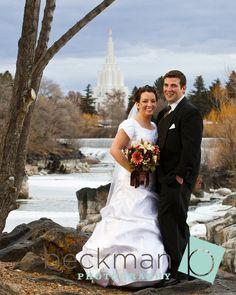 Beautiful Wedding Pose Idaho Falls